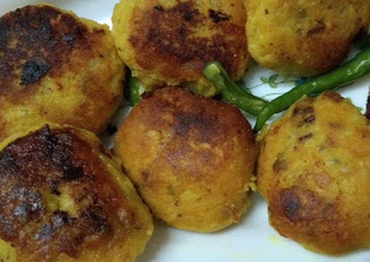 Simple Way to Make Favorite RawPapaya Kofta / Left over curry Recipe