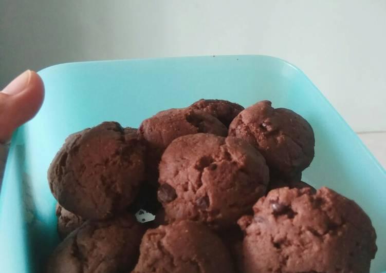 Double choco cookies ekonomis