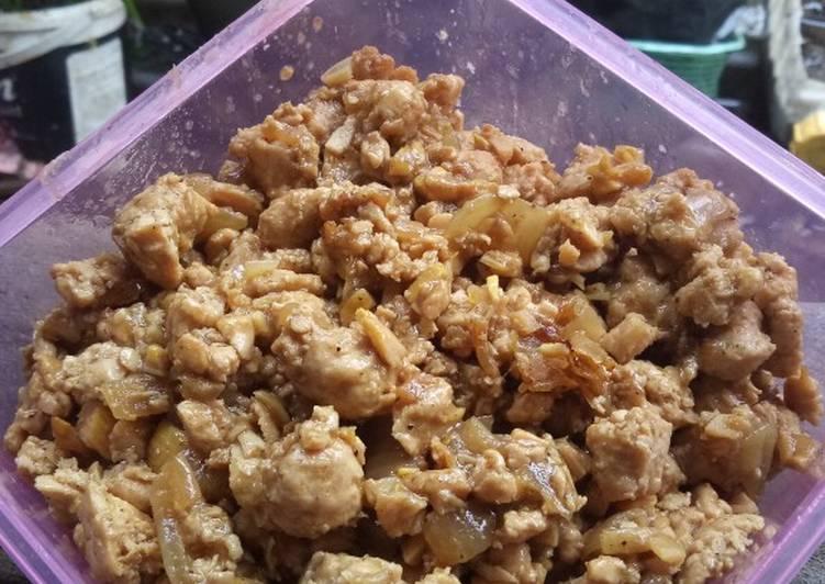 Resep Ayam Kecap Isian Pao Bikin Laper