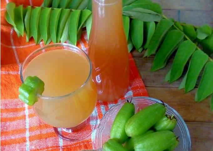 Sirup Belimbing Wuluh untuk obat batuk n hipertensi