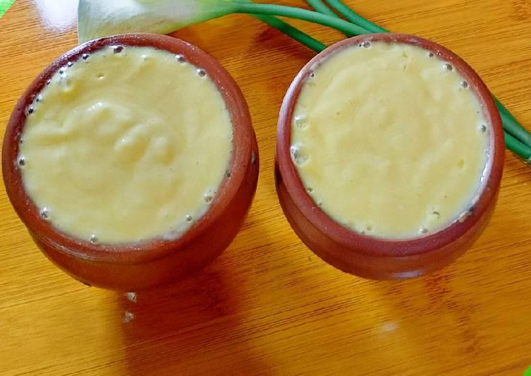 Steps to Prepare Homemade Mango Lassi