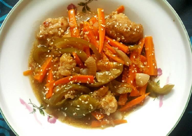 Recipe of Favorite Chicken Manchurian😍