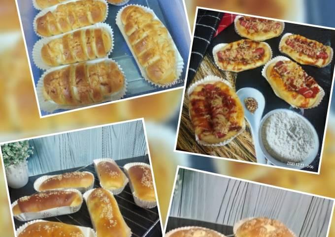 Roti Manis 4 Varian