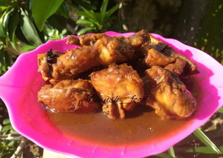 Ayam kecap (fav. My son)