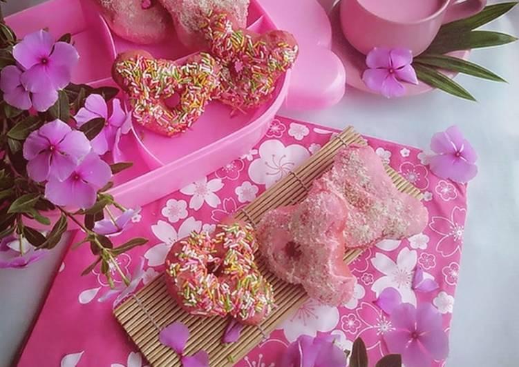 Donat pink ceria