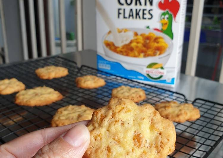 Easy Cornflake Cookies