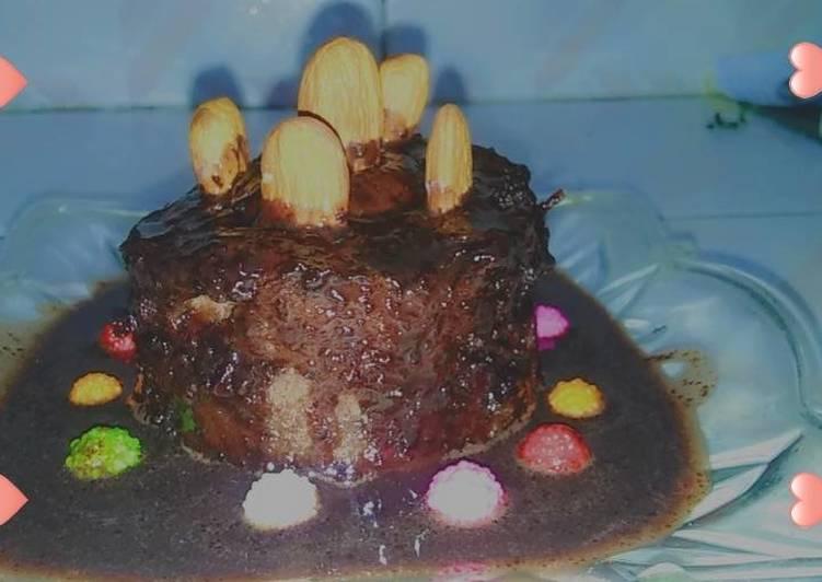 Recipe of Super Quick Homemade Almond cup cake