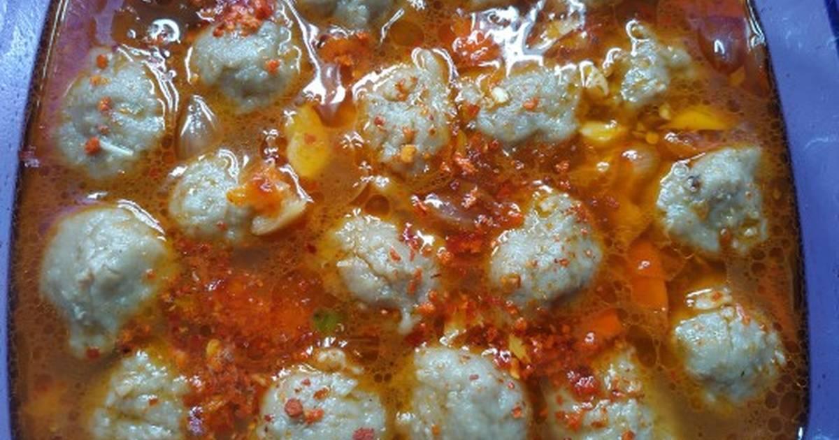 9 455 Resep Bakso Mercon Super Pedas Enak Dan Sederhana Cookpad