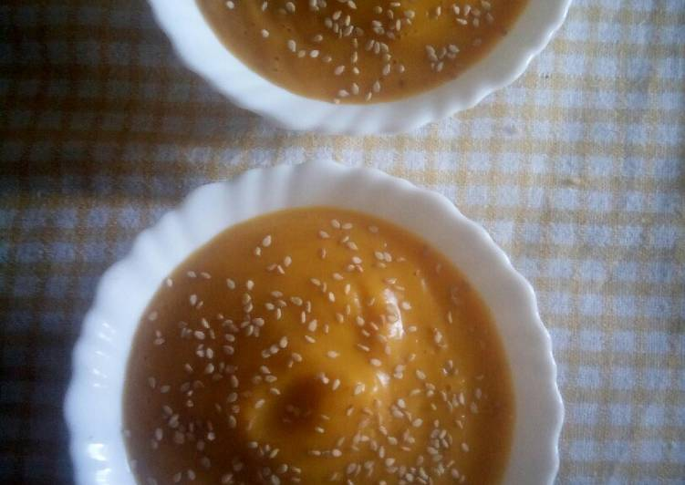 Recipe: Yummy Cream of Pumpkin soup