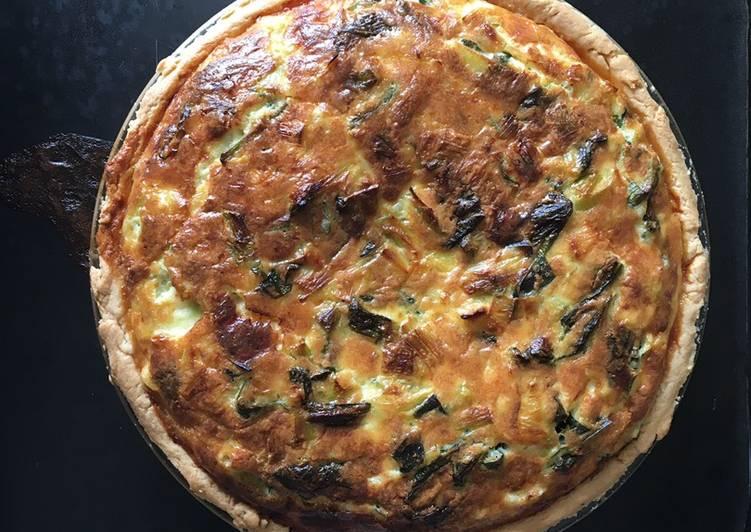 Recipe of Super Quick Homemade My Leek and Wild Garlic Tart