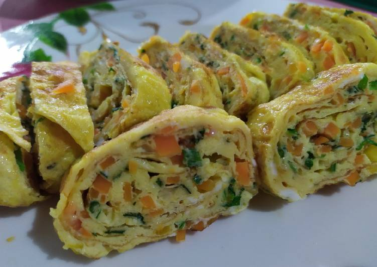 Telur Gulung, Gyeran-mari - cookandrecipe.com
