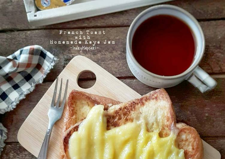 Resep French Toast With Homemade Kaya Jam Oleh Indry Hapsari Cookpad