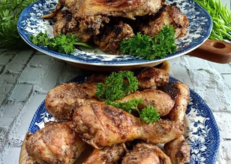 Ayam Panggang Bumbu Shawarma - cookandrecipe.com