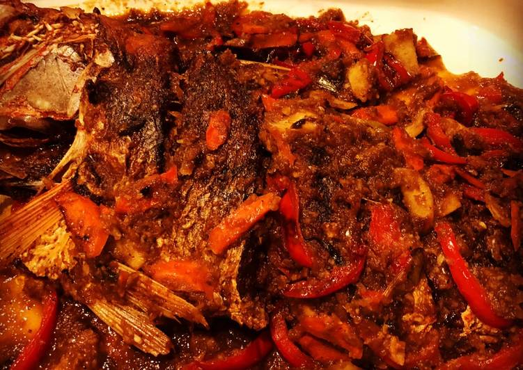 Recipe: Delicious Escabeche (Sweet & Sour Fish)