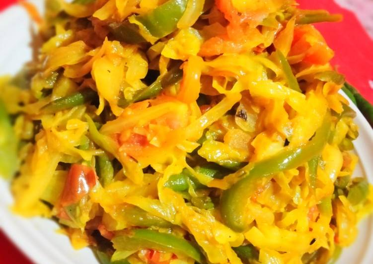 Steps to Prepare Perfect Cabbage Fry