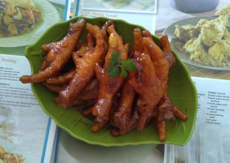 Resep Bacem Ceker Ala Angkringan Oleh Pawone Dina Cookpad