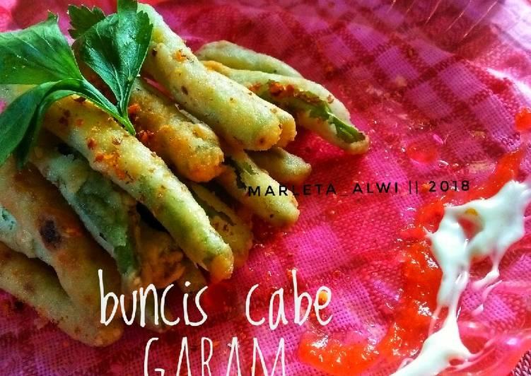 Buncis cabe garam#rabubaru