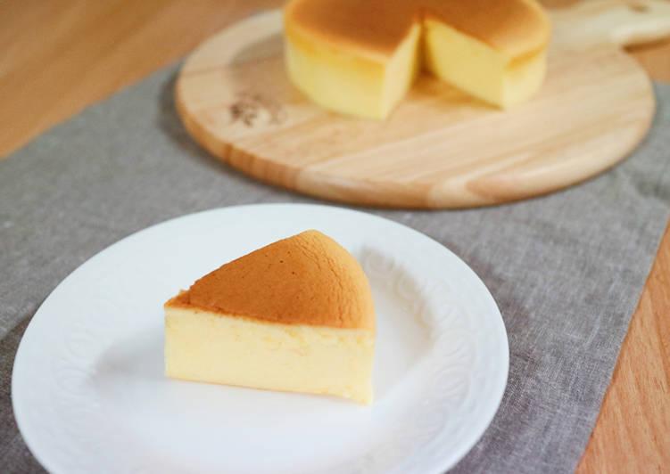 Japanese cheesecake jepang tanpacream cheese beserta tips & triknya