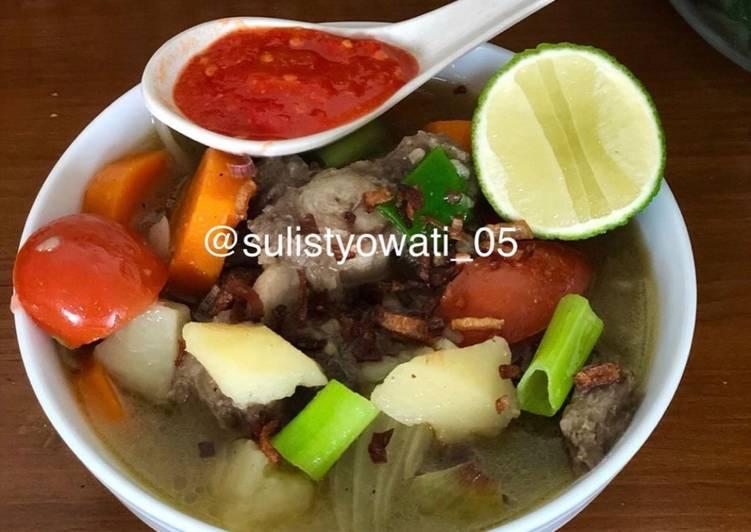 Resep Oxtails Soup (Soup Buntut)