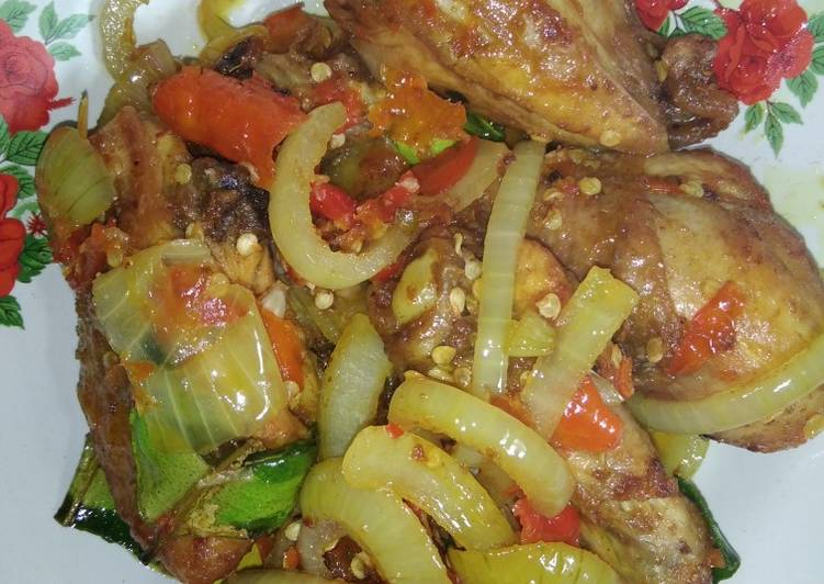 Ayam bombay pedas