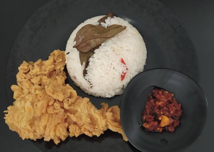 Nasi Liwet Rice Cooker