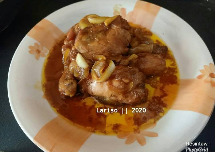 Resep Ayam Goreng Mentega ala Resto, Enak