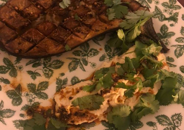 Easiest Way to Make Any-night-of-the-week Marinades aubergine with humus