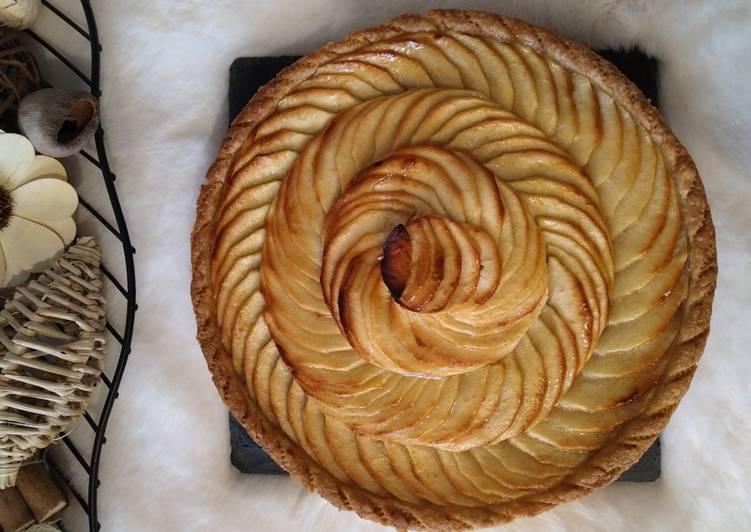 Tarte aux pommes – Food Network Cookbooks