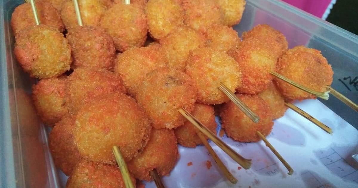 Resep Cilok Krispi Isi Sosis Telur Cocok Untuk Jualan Oleh Anonim Cookpad