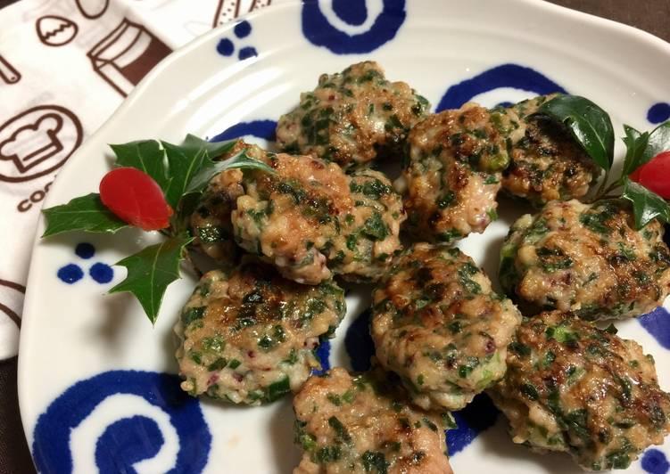 Japanese Cuttlefish Dumplings