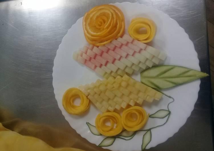 Steps to Prepare Quick Fruit salad/ Platter. #Author Marathon