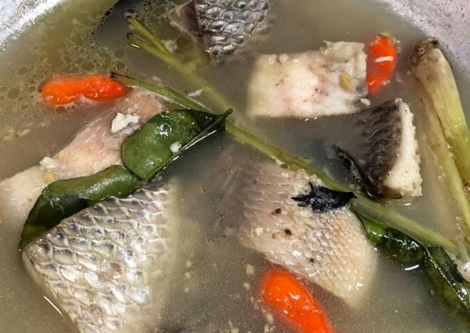 Sop ikan Nila 🐟
