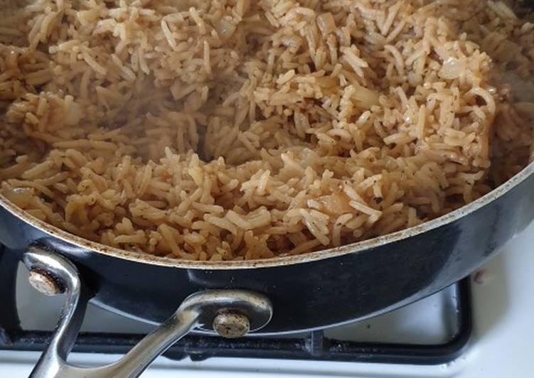 Easiest Way to Prepare Speedy Versatile Savoury Rice