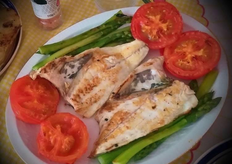 Dorada A La Plancha Con Verduras Receta De Josevillalta
