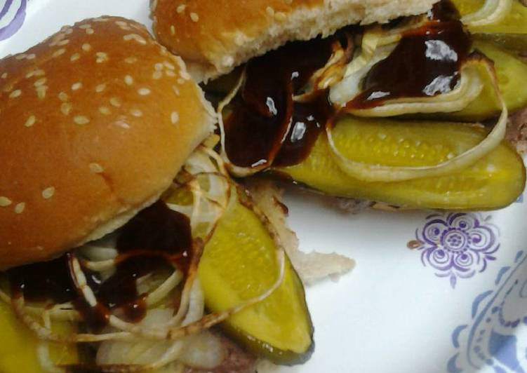 Pickled burgers