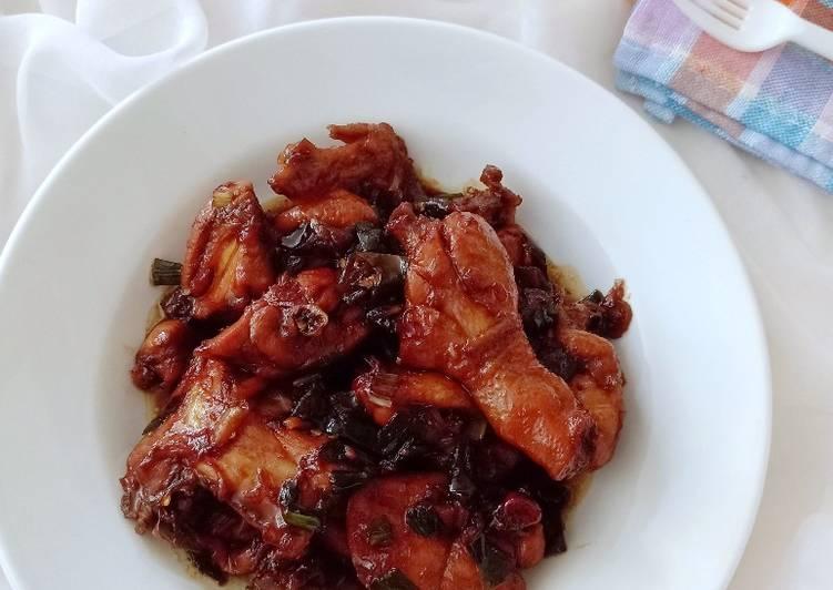 Ayam Kecap (Khas Sunda)