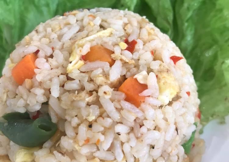 Nasi goreng ikan peda