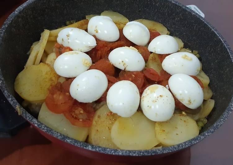 Morocco Boiled Eggs Tajine