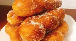 Hình ảnh món Bánh quẩy Hàn Quốc (Kkwabaegi-Twisted Korean doughnuts)