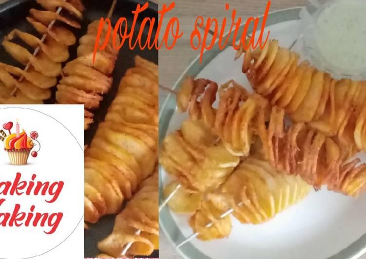 Tornado potatoes/potato spirals
