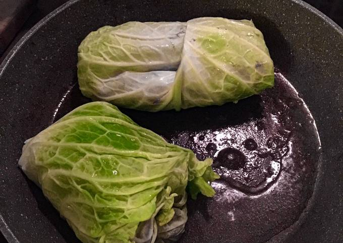 Fitness Recipes-Diet Stuffed Cabbage Leaves