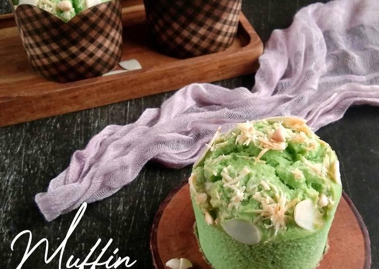 Muffin Pandan Keju (w.20)
