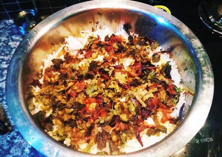 Recipe of Homemade Kabuli Biryani