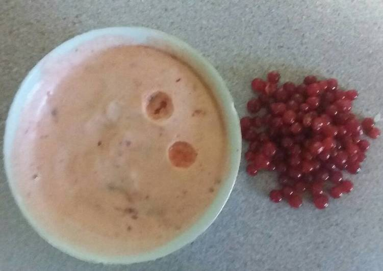 Soap berry meringue