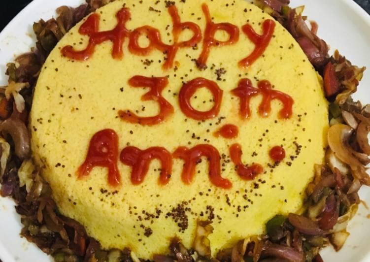 Recipe of Award-winning Dhokla cake
