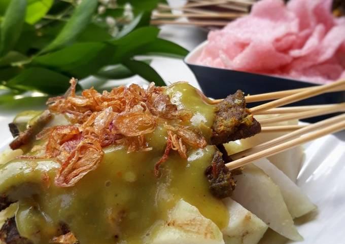 Resep Sate Lidah Sapi Aka Sate Padang Pr Recookrancakbana Oleh Basmala Iis Almoktafi Cookpad