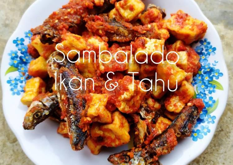 Sambalado ikan & tahu