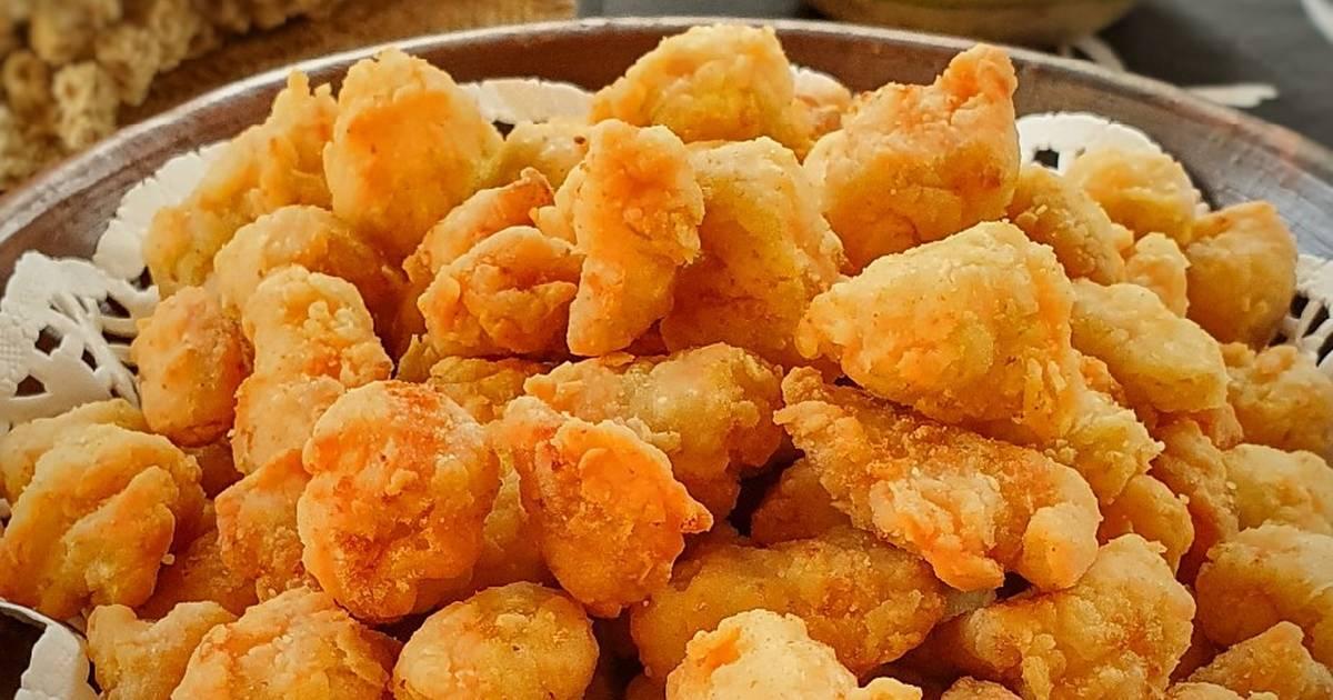 Resep 166 Ayam Popcorn Renyah Crispy Popcorn Chicken Oleh Ifani Devi Cookpad