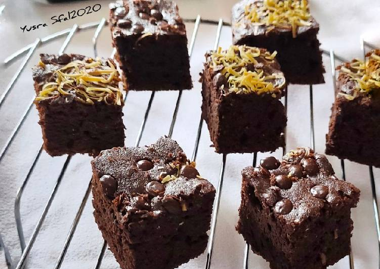 Brownies Cheese Chocolate Chip