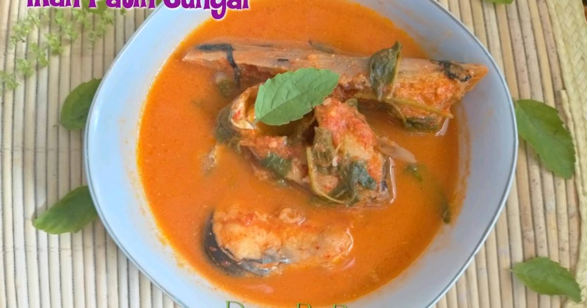 resep gulai asam padeh ikan patin katalog resep masakan khas daerah  indonesia resepi Resepi Ikan Patin Goreng Bumbu Kuning Enak dan Mudah